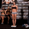 Gina celebrates making weight