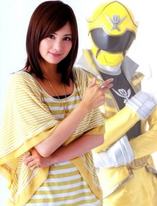 Mao Ichimichi as  Luka Millfy/Gokai Yellow